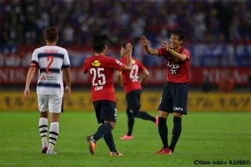 鹿島が金崎2発&遠藤ミドル弾でFC東京に完勝…3年ぶりにナビスコ杯4強