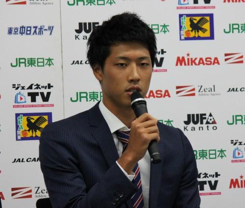 順天堂大DF新井一耀、横浜FM加入の決め手は「偉大な選手がいるチームで揉まれたい」