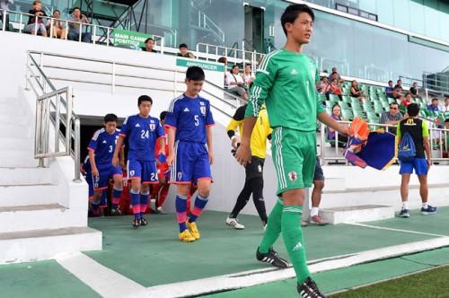 AFC U-16選手権2016予選に臨むU-15日本代表、練習試合で快勝/長野合宿