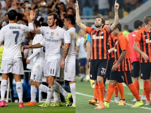 レアル対シャフタール、C・ロナウドらがスタメンへ…UEFAがCL先発予想