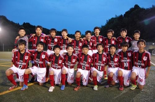 日本国内で唯一のACミラン公式ジュニアユースチームがセレクションを開催