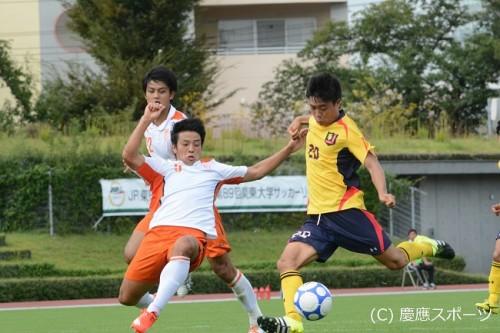 慶應大、法政大戦で連勝止まるも納得の勝ち点1/関東大学リーグ第15節