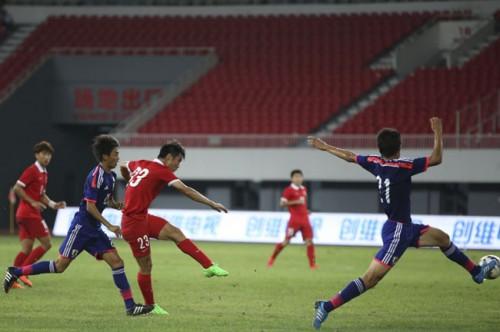 U-18日本代表MF森島司「セットプレー1本で得点を決められ残念な結果」/CFA国際ユース