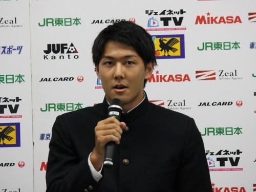 岡山加入内定の慶應大DF久保飛翔「どの能力においても、他の選手との違いを見せたい」