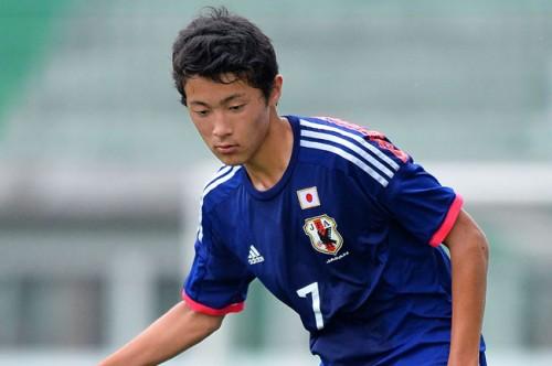 U-15日本代表MF菅原由勢「何より結果を求めていたので良かった」/AFC U-16選手権2016予選