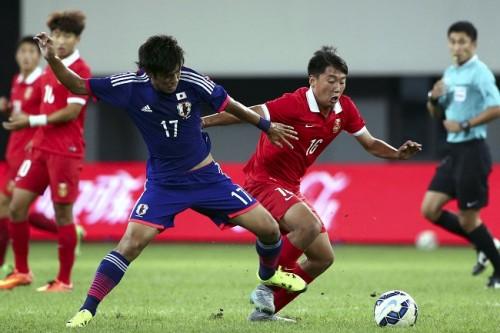 U-18日本代表、中国に惜敗/CFA国際ユース