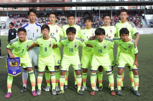U-15日本代表が圧巻のゴールラッシュ、久保の5発などでモンゴルに圧勝/AFC U-16選手権2016予選