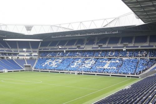 ガンバ大阪の新スタジアムがお披露目…サポーター「待ち焦がれた瞬間」