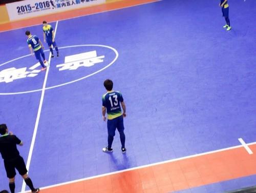 中国フットサルリーグ フットサル日本代表・渡邉所属の大連は10-1で快勝