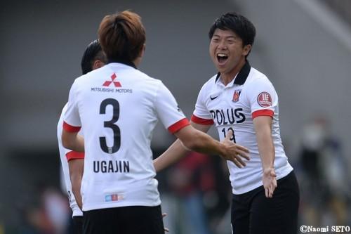 J1通算100試合出場の浦和FW武藤が自ら祝砲「うれしさ倍増です」