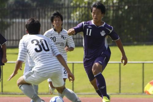 明治大、3試合連続無失点も神奈川大とドロー/関東大学リーグ1部