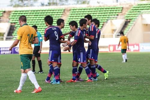 U-18日本代表が1次予選突破…高木などの得点でオーストラリアに快勝/AFC U-19選手権2016予選