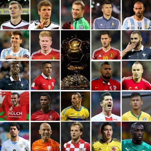 FIFAバロンドール候補23名発表…2年連続受賞のC・ロナウドやメッシら