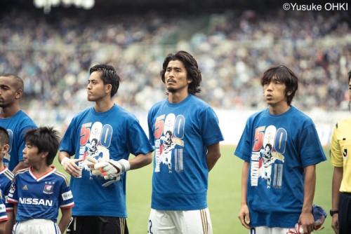 500試合目は劇的逆転勝利…横浜FM中澤「本当に感謝の言葉しかない」