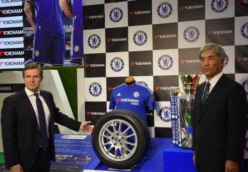 横浜ゴムがチェルシーとのパートナー契約記念タイヤを発表…クラブロゴ入り