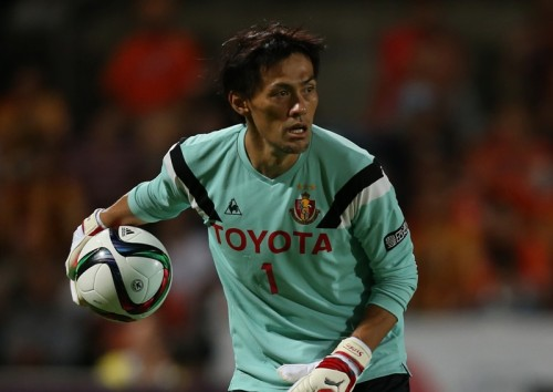 39歳、GK楢崎正剛が前人未到のJ1通算600試合出場を達成