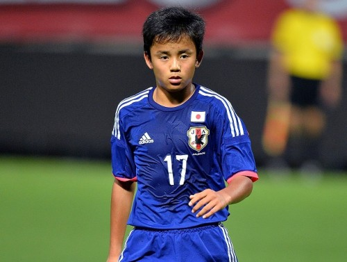 U-15日本代表、久保建英などの得点でU-15イングランド代表に逆転勝利/バル・ド・マルヌU-16国際親善トーナメント2015