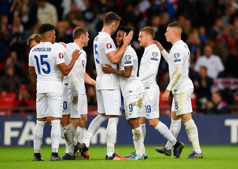 during the UEFA EURO 2016 Group E Qualifier match between England and Estonia at Wembley Stadium on October 9, 2015 in London, United Kingdom.