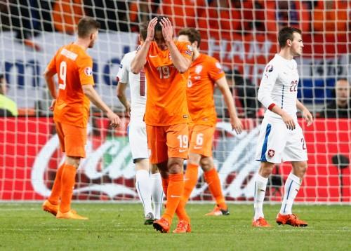 オランダが32年ぶりのユーロ予選敗退…最終節も敗戦で大逆転突破ならず