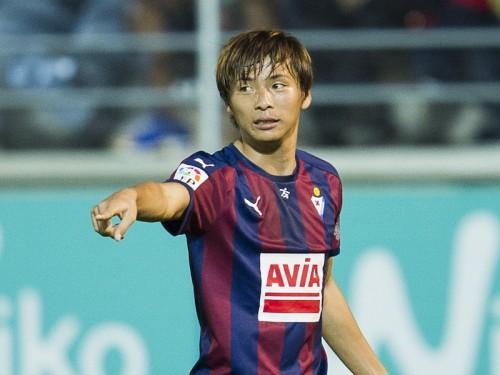 エイバル乾が移籍後初ゴール…リーガで日本人史上4人目の得点