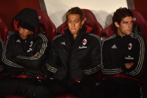 クラブ批判の本田が3戦ぶりの出場…ミラン、リード守れずドロー決着
