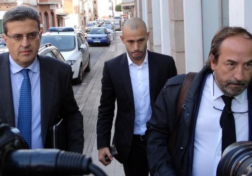 バルサMFマスチェラーノが裁判所で2度の脱税認める…3分間で証言
