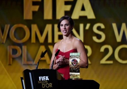 FIFA女子最優秀選手賞歴代受賞者一覧(2001-2015)