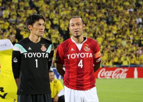 楢崎の偉業達成を称える闘莉王「日本一のGK、誰も真似はできない」