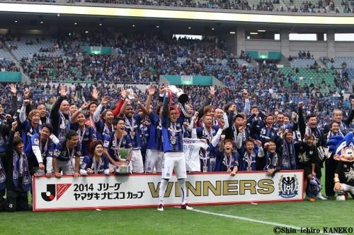 ナビスコ決勝、連覇を目指す王者G大阪と通算17冠目を狙う鹿島が対戦
