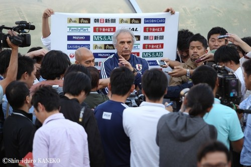 """""""アジア最強""""のイラン戦を前にハリル「就任以来最も難しい試合」"""