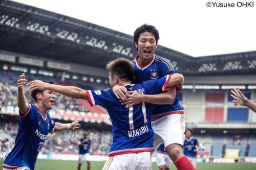 横浜FMが中澤のJ1通算500試合出場を白星で飾る…劇的逆転勝利で2連勝