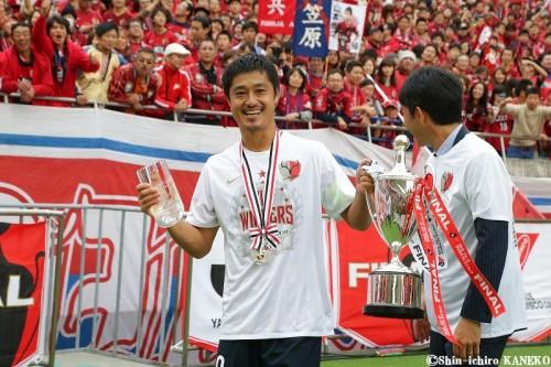 ナビスコ杯MVPは鹿島MF小笠原…2002年以来2度目の受賞