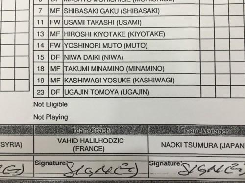 日本代表メンバーリストに浦和MF宇賀神が登場…協会は入力ミスと説明