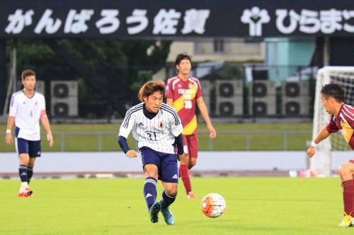 U-22日本代表候補、福岡大の守備を崩し切れずスコアレスドロー