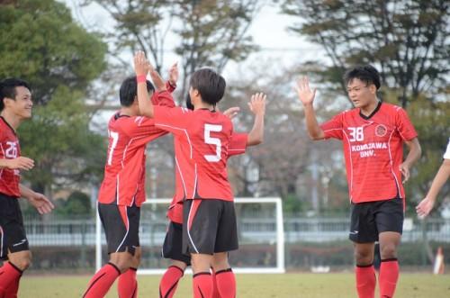 駒澤大、法政大に2発快勝…4試合ぶりの勝ち点3/関東大学リーグ第18節