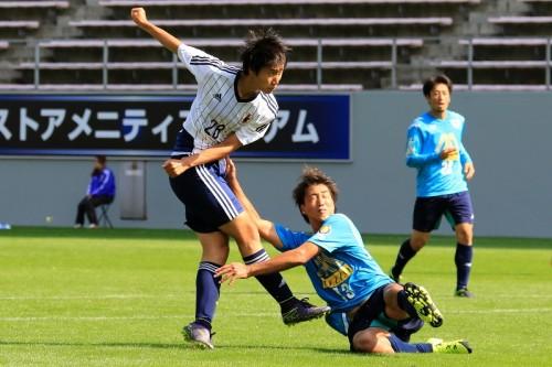 U-22日本代表候補が鳥栖に7発完勝…奈良、浅野は2ゴールの活躍