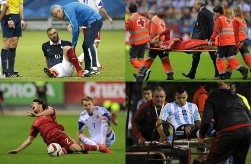 クラブの不安の種…代表ウィークで負傷してしまった各国主力選手たち