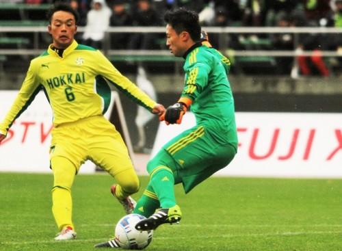 無失点Vを支えた札幌大谷GK坂桂輔「フットサルで一対一の対応を吸収できた」