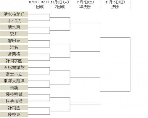 予選を勝ちあがった16校で全国切符を争う…常葉橘vs静岡学園など8試合/選手権静岡県予選決勝T
