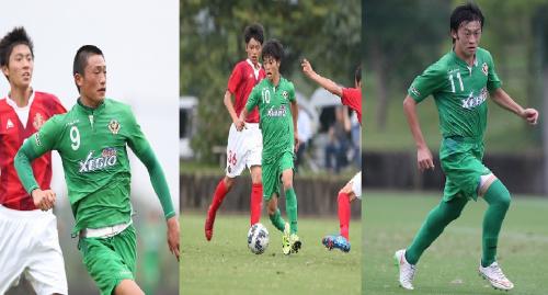 東京ヴェルディ、ユース所属のMF林昇吾、井上潮音、FW郡大夢のトップチーム昇格を発表