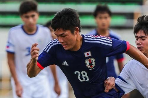 2得点のU-18日本代表FW吉平「豪州戦に勝って最終予選の切符を掴み取りたい」