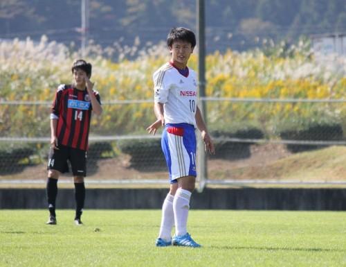 クラブユース王者、横浜FMユースが札幌U-18に4発快勝/Jユース杯3回戦