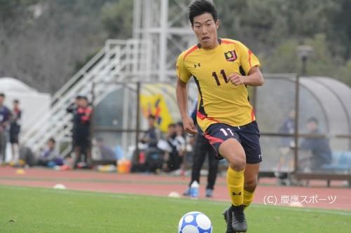 慶應大、セットプレーからの2失点で流経大に敗れ、優勝の可能性が消滅/関東大学リーグ第21節