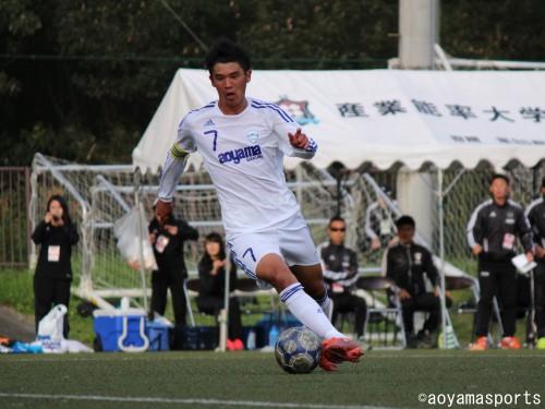 青山学院大MF荒木大吾、磐田に加入内定「歴史あるクラブへの加入が決まり、大変うれしい」
