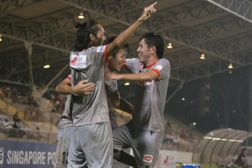 アルビレックス新潟シンガポールが敵地でホーム・ユナイテッドに逆転勝利