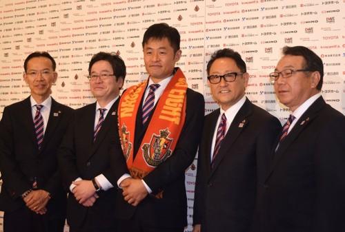 名古屋の小倉新監督が意気込み「自分自身の力を最大限発揮したい」