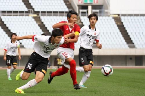 浦和が渡邊陽の得点などで名古屋との接戦を制し、Jユースカップ初優勝