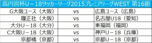 上位2チームに首位浮上の可能性…G大阪は広島と対戦/プレミアリーグWEST第16節