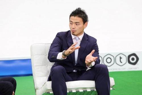 ラグビー日本代表の五郎丸歩が日本サッカーに提言「フィジカルから逃げると戦えない」