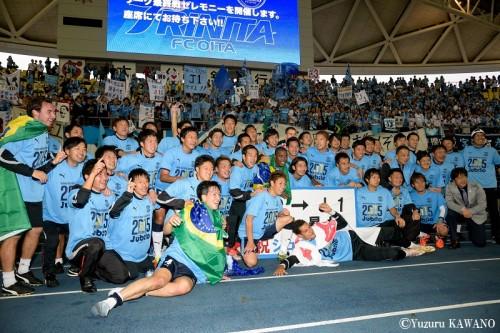 磐田、2年ぶりのJ1復帰決定…苦しみながらも終盤の劇的弾で勝利